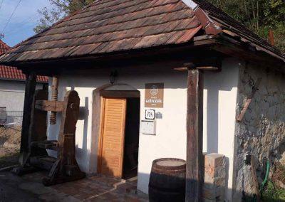 Az 1883-ban épült présház