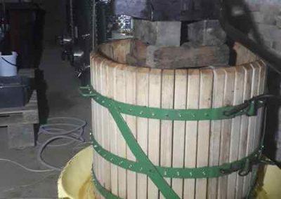 400 literes kosaras prés, 1914-es gyártású